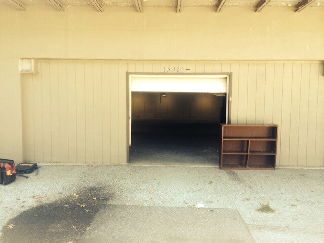 Garage Door Installation Example