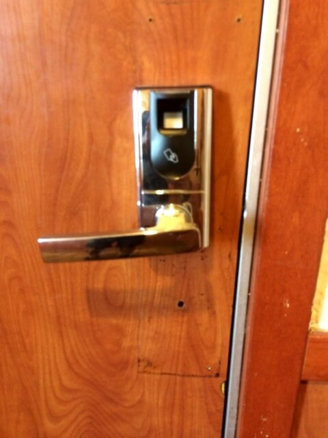 Commercial Lock Installation 1