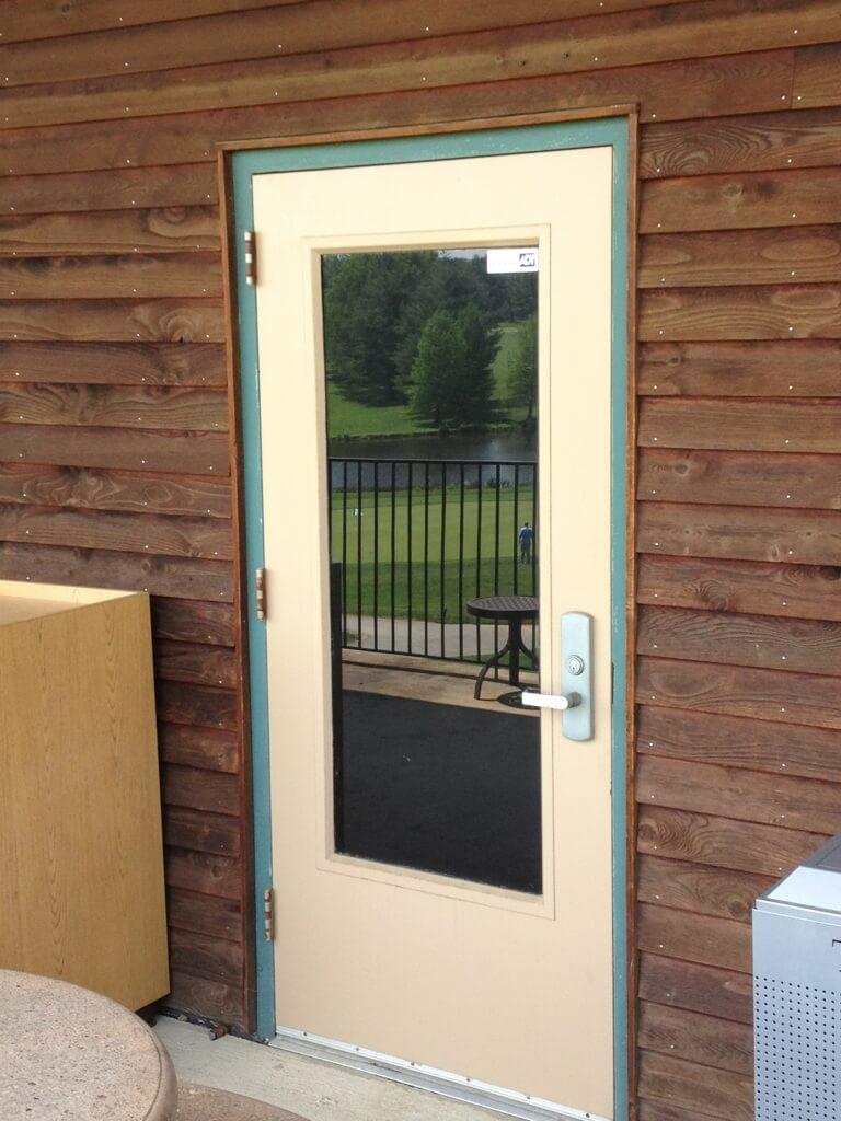 Commercial Door Installation 1