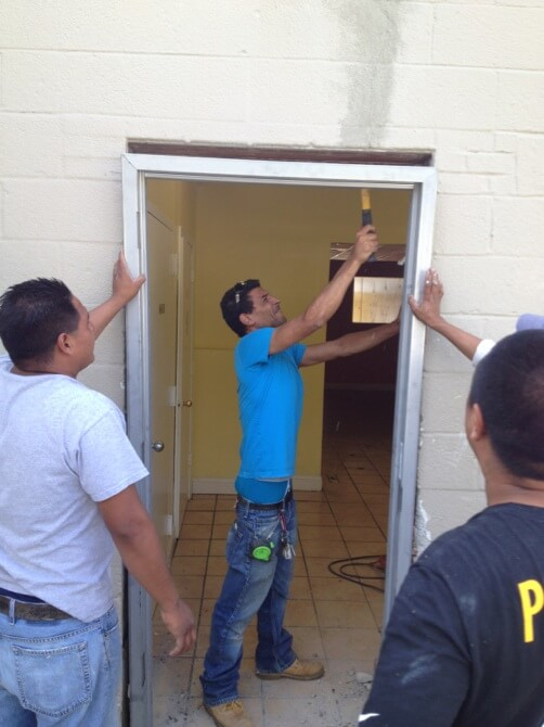 Commercial Door Repair 1