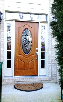 Queen Anne's County MD Front Door Installation