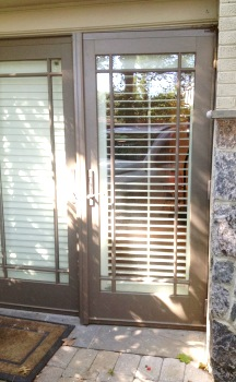 Barney Circle DC French Doors Installed