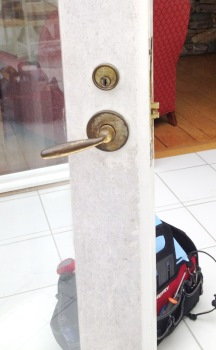 Queen Anne's County MD Patio Door Locks Installed