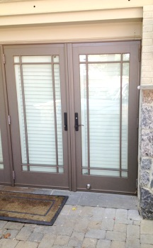 Federal Triangle DC Residential French Door Installation