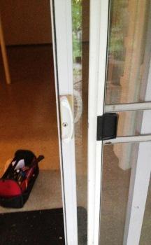 Montgomery County Md Sliding Door Locks Replaced