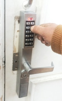 Installation of Keypad Locks for Berkley, DC Offices