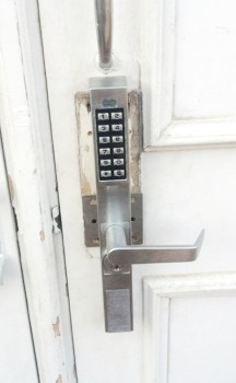 Stronghold, DC Commercial Keypad Locks