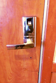 Biometric Lock Installation