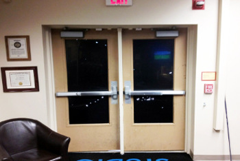 Laurel, MD Double Exit Doors Installed