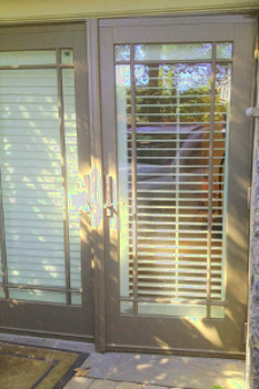French Doors Repaired for Morningside, Residences