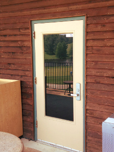 Bowie, Maryland Shop Door Installation